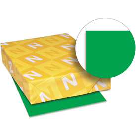 "Neenah Paper Astrobrights Card Stock Paper, 8-1/2"" x 11"", Gamma Green, 250 Sheets/Pack by"