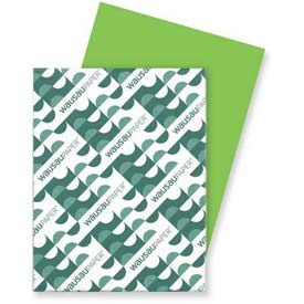 "Neenah Paper Astrobrights Card Stock Paper, 8-1/2"" x 11"", Terra Green, 250 Sheets/Pk by"