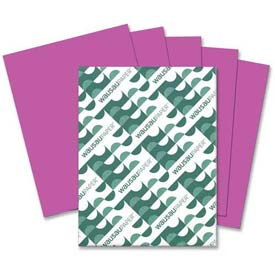"Neenah Paper Astrobrights Card Stock Paper, 8-1/2"" x 11"", Planetary Purple, 250 Sheets/Pack by"