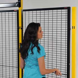 "WireCrafters® RapidGuard™ Lift-Out Welded Wire Panel, 3'W x 8' 1-1/4""H"