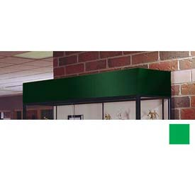 "Cornice/Light Fixture 60""W For Spirit Display Case - Forest Green"