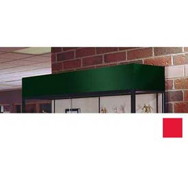 """Cornice/Light Fixture 60""""W For Spirit Display Case - Red"""