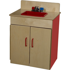 Wood Designs™ Strawberry Red Sink