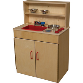 Wood Designs™ Three-N-One Kitchen Center
