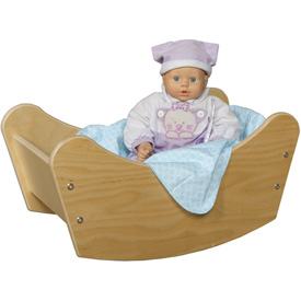 Wood Designs™ Doll Cradle