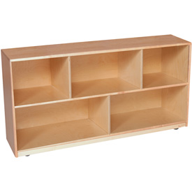 "Single Storage Unit, 24""H, Maple"