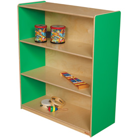 "Wood Designs™ Green Apple Bookshelf, 42""H"