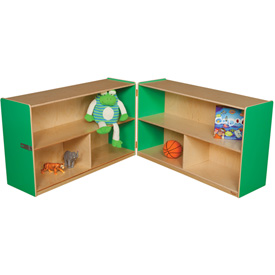 "Green Apple Folding Versatile Storage Unit, 30""H"
