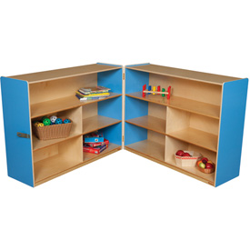 "Blueberry Folding Versatile Storage Unit, 36""H"