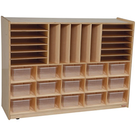 Multi-Storage with Fifteen Clear Trays