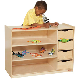 Storage Center with Drawers