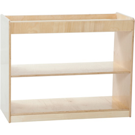 Wood Designs™ Two Shelf Open Divider