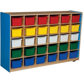 Blueberry 30 Tray Storage with Assorted Trays