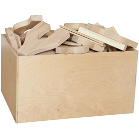 Wood Designs™ Block Bin - Four Sides