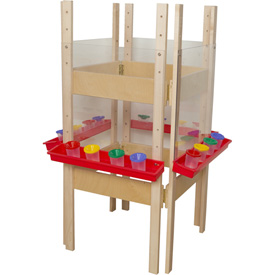 Wood Designs™ Four Sided Easel with Acrylic