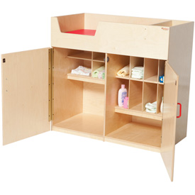 Wood Designs™ Deluxe Infant Care Center