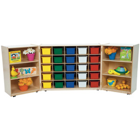 25 Tray Tri-Fold Storage with 25 Assorted Trays