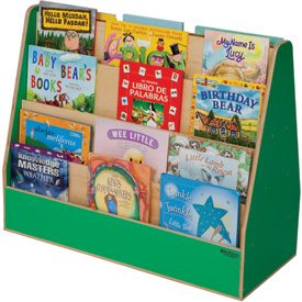 Wood Designs™ Green Apple Double Sided Book Display