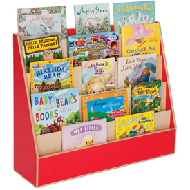 Wood Designs™ Strawberry Red Book Display Stand