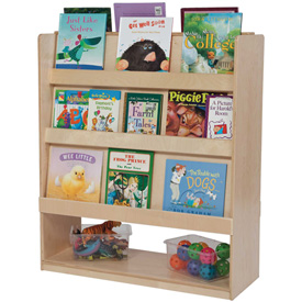 Wood Designs™ Double Sided Library