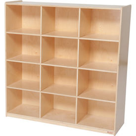 Twelve Big Cubby Storage
