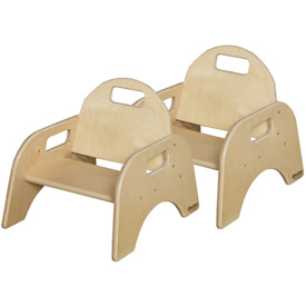 "Wood Designs™ Woodie, 5"" Seat Height, Carton of Two"