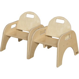 "Wood Designs™ Woodie, 7"" Seat Height, Carton of Two"