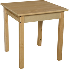 """Wood Designs™ 24"""" Square Table with 22"""" Legs"""