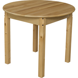 "Wood Designs™ 30"" Round Table with 24"" Legs"