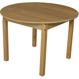 "Wood Designs™ 36"" Round Table with 24"" Legs"