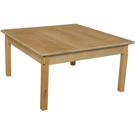 "Wood Designs™ 36"" Square Table with 18"" Legs"