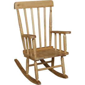 Wood Designs™ Child's Rugged Rocker