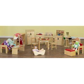 Wood Designs™ Dramatic Play Collection A