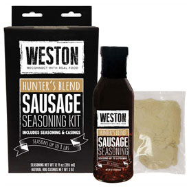 Hunter's Blend Sausage Liquid Seasoning Kit (makes 8 lbs) by