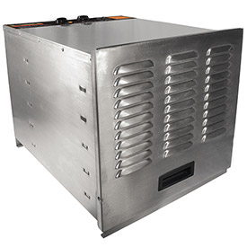 PRO-1000: Stainless Steel Food Dehydrator 10 Tray by