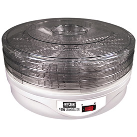Food Dehydrator 4 Tray, Round by