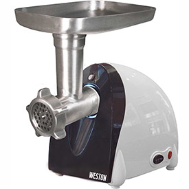 Weston 82-0301-W #5 Electric Meat Grinder & Sausage Stuffer (500 watt) by