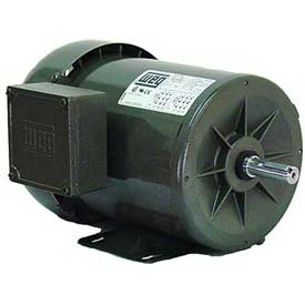 WEG Fractional 3 Phase Motor, 00118ES3HD56, 1HP, 1800RPM, 575V, D56, TEFC