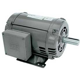 WEG General Purpose Single Phase Motor, 00318OS1C184T, 3HP, 1800RPM, 208-230V, 184T, ODP
