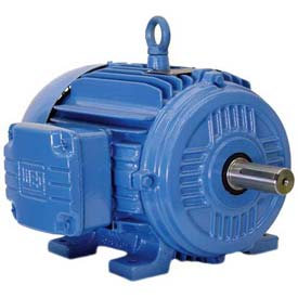 WEG Cooling Tower Motor, 00789EP3HCT213V, 7.5/1.75 HP, 1800/900 RPM, 575 Volts, 3 Phase, TEFC