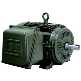 WEG General Purpose Single Phase Motor, 01018ES1E215T, 10HP, 1800RPM, 208-230/460V, 215T, TEFC