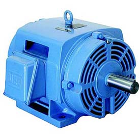 WEG Fire Pump Motor, 10018OP3HFP404TS, 100 HP, 1800 RPM, 575 Volts, ODP, 3 PH