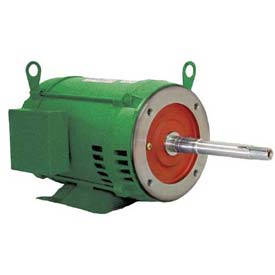 WEG Close-Coupled Pump Motor-Type JP, 10036OT3G365JP, 100 HP, 3600 RPM, 460 V, ODP, 3 PH