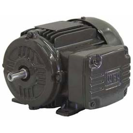 WEG IEC TRU-METRIC™ IE2 Motor, .1818EP3EAL63, 0.25HP, 1800/1500RPM, 3PH, 230/460V, 63, TEFC