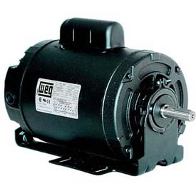 WEG Farm Duty Motor, .5018ES1BPFC56, 0.5 HP, 1800 RPM, 115/208-230 Volts, TEAO, 1 PH