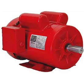 WEG Farm Duty Motor, .5018ES1RFDB56, 0.5 HP, 1800 RPM, 115/230 Volts, TEFC, 1 PH