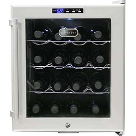 Whynter SNO WC-16S Wine Cooler, Platinum With Lock, Holds 16 Bottles by