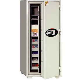 """Buy Wilson Safe Fire Data and Media Safe DT200E Electronic Lock 29-1/4""""W x 27""""D x 87-3/4""""H, Gray"""