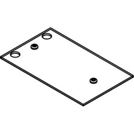 Wiremold CRFB-B-4 Floor Box CRFB Series Blank Device Plate #4