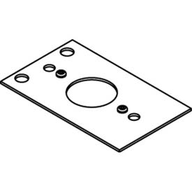 "Wiremold CRFB-SR1-4 Floor Box CRFB Series Single Receptacle Plate, 1.39""Dia."